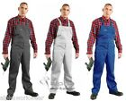 New Cotton Blend Bib And Brace Overalls Painters & Decorators Work Master