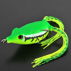 Frog Topwater Soft Fishing Lures Baits Crankbait Bass Hooks 45mm 8g, 12 Colors