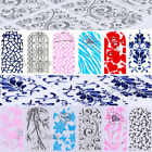 Stylish Nail Art 3D Decoration Sticker Tips Wraps Decals Adhesive Rhinestone Gem