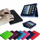 Folio PU Leather Case Bluetooth Keyboard Cover for Original Apple iPad 1 1st Gen