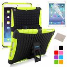 Hybrid Smart Case With Holder Cover Skin Soft Rubber for Apple iPad mini 1/2/3