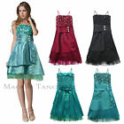 Maggie Tang Straps Evening Party Cocktail Prom Bridesmaid Wedding Dress SZ 6-22