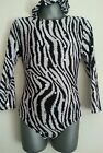 Girls new age 7-8  sequence animal long sleeves leotard gymnastics/tap/dance