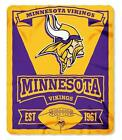 "Brand New NFL Teams New Logo Large Soft Fleece Throw Blanket 50"" X 60"" Marque фото"
