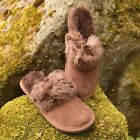Lambskin Slippers Clogs Morocco Lambskin Slippers Fur Leather Shoes New