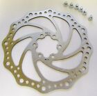 Bike / Cycle Staniless Steel Disc Brake Rotor 160mm, 180mm, 203mm, incl bolts