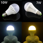Topin 10pcs 7W 10W E26 A19 LED Bulb Lamp 80% Energy Saving Lamp White Warm Light