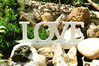 White 10cm LOVE Freestanding Wooden Letters Wedding Gift Home Decor