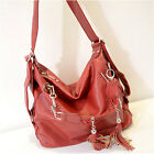 Women Handbag large capacity Shoulder Tassel Bags  [JG]