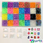 US SELLER- STORAGE CASE 11000 RUBBER BANDS TALENTED KIDZ/ RAINBOW /LOOM BUNDLE