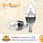 Dimmable E14 Small Edison Screw/B15 Small Bayonet Cap LED Candle Light Lamp Bulb