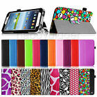"""Slim Folio Leather Case Stand Cover for Samsung Galaxy Tab 3 7.0 7"""" Inch SM-T210"""
