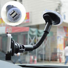 Long Arm Cradle Holder Mount Dual USB Car Charger For iPhone Note 2 S3 S2 S4 S5