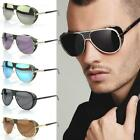 2014 Men's Classic Sidestreet Crosswalk Aviator Sidecups Steampunk Sunglasses