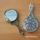 Imitation Round Hand Mirror Man-in-the-moon antique handicraft pendant