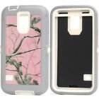 Shockproof Defender Pink Tree Camo Case Cover for Samsung Galaxy S5 I9600