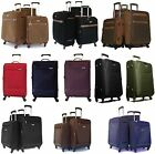 4 Wheel Spinner Suitcase Super Lightweight Trolley Cases Luggage Sets of 4 & 3