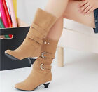 womens round toes platform rome shoes metal rivets Motorcycle boots