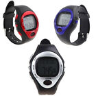 Fitness Pulse Heart Rate Monitor Exercise Running Calorie Counting Digital Watch