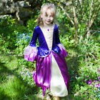 Girls Tudor Kids Princess Royal Queen Historical Victorian Fancy Dress Costume