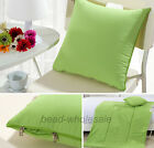 2 In 1 Relax Travel Back Cushion Pillow Air Condition Protector Blanket Quilt,!