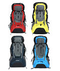Hot Large Waterproof Nylon Outdoor Travel Backpacks External Frame Packs 60L
