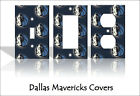 Dallas Mavericks Light Switch Covers Basketball NBA Home Decor Outlet on eBay