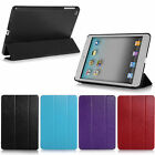 Luxury Slim Magnetic PU Leather Smart Case Stand Cover for Apple ipad mini New
