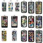 DC Marvel comic book strips cover case for Samsung galaxy No. 3
