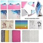 New Seamless Slim PU Leather Case Smart Cover For Ipad air1 mini 1/2 ipad 2/3/4
