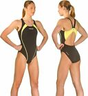 Head Synergy one piece Ladies Swimsuit Swimming Costume - High Quality - Yellow