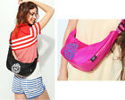 Womens Girls Nylon Chest Bags Small Shoulder Cross Body Bags Hobo Purse 7 Colors