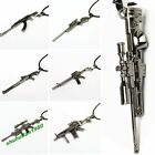 New 18 Styles Charming Men's Metal Army Gun Rifle Chain Pendant Necklace 1Pc Hot