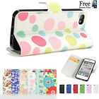 Wallet Flip Flower Pu Leather Case Cover for Apple iPhone 4S 4