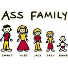 NEW ASS FAMILY T-Shirts Small to 5XL BLACK or WHITE