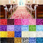 100 x Silk Fabric Rose Petals- Wedding Table Confetti Scatter Decorations