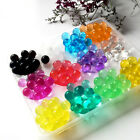 5BagX550pc Magic Crystal Mud Soil Water Beads Flower Planting Wedding Vase Deco
