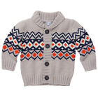 BNWT BABY BOYS KNIT CARDI CARDIGAN JUMPER CHOOSE SIZE 00 OR 1 NEW