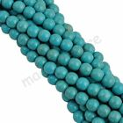 Wholesale DIY Round Loose Turquoise Charm Spacer Beads Jewelry Best Selling New