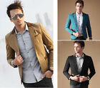 Mens Two Button Casual Dress Blazer Coat Office Party Wedding Suit Jacket Coat