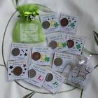 * Coin 6d 1p Charms gift *EXAMS Driving GCSE's *OTHER Good Luck Congrat Keepsake