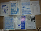 Oakham United  Home  programmes   1988/89 to 1995/96 Pick the one(s) you want