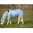 GALLOP 4 in One Fly Turnout Rug Neck Belly Cover FREE Face Mask Horse & Pony