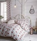 Catherine Lansfield Multi Doily Hearts Duvet Set And Accesories