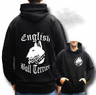 ENGLISH BULL TERRIER HOODIE ADULTS & KIDS SIZE BULL TERRIER