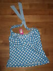 """""""Midnight Grace by Figleaves"""" Pin Up Halter Tankini Top - Size  32DD"""