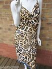 MARKS AND SPENCER PER UNA ZINC ANIMAL PRINT DRESS  UK 8-10-14 RRP £39.50