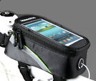 Cycling Mountain Bike Bicycle Equipment Front Frame Panniers bags for cell phone