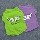 Summer Various The Angel Small Dog Cat Pet Clothes Vest T Shirt Apparel Clothes