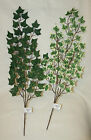 ivy leaf branch stems artificial wedding flowers floral craft variegated green